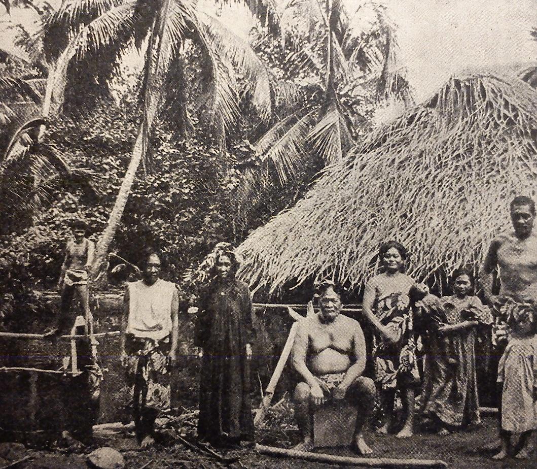 domorodci na Tahiti