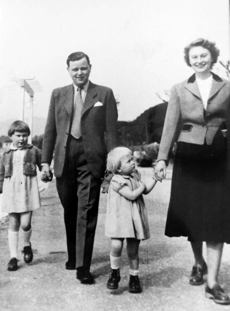rodina před odchodem z Československa