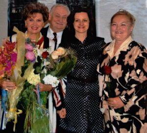 oslava 80. narozenin velké přítelkyně Áji Vrzáňové