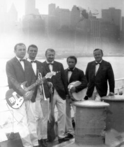 New York srpen 1969 (Zappner druhý zleva)
