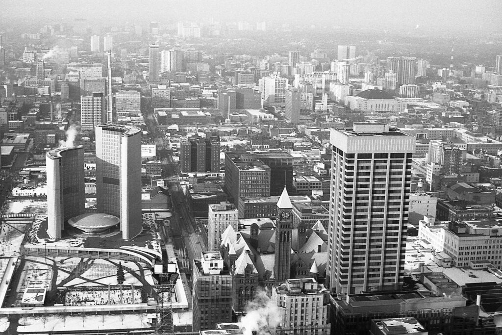 Toronto v 70. letech